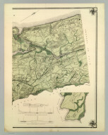 Topographical Atlas Of The City Of New York Including The Annexed Territory. V. (Northernmost portion). Showing original water courses and made land. Prepared Under The Direction Of Egbert L. Viele, Civil and Topographical Engineer. 234 Broadway, N.Y. 1874. Eugene Quackenbush, C.E. Entered ... 1874, by Egbert L. Viele in the Office of the Librarian of Congress. Julius Bien, Photo Lith.