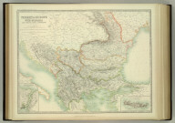 Turkey in Europe with Bulgaria also Rumania, Servia & Montenegro. (with) The Bosporus & Constantinople. (with) Crete or Candia. Keith Johnston's General Atlas. Oct. 1911. Engraved, Printed, and Published by W. & A.K. Johnston, Limited, Edinburgh & London.