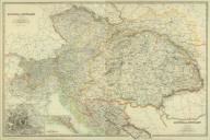(Composite of) Austro-Hungarian Monarchy. By Keith Johnston, F.R.S.E. Keith Johnston's General Atlas. Engraved, Printed, and Published by W. & A.K. Johnston, Limited, Edinburgh & London.