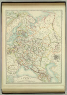 European Russia. (with) Moscow. Keith Johnston's General Atlas. Jan. 1910. Engraved, Printed, and Published by W. & A.K. Johnston, Limited, Edinburgh & London.
