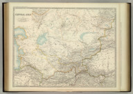 Central Asia. Keith Johnston's General Atlas. Jan. 1912. Engraved, Printed, and Published by W. & A.K. Johnston, Limited, Edinburgh & London.