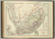 South Africa. (with) The Cape. (with) Cape Town. (with) Durban and Port Natal. Keith Johnston's General Atlas. May 1912. Engraved, Printed, and Published by W. & A.K. Johnston, Limited, Edinburgh & London.