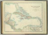 West India Islands and Central America. Keith Johnston's General Atlas. Feb. 1912. Engraved, Printed, and Published by W. & A.K. Johnston, Limited, Edinburgh & London.
