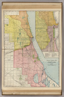 Railway Terminal Guide of Chicago. (with) (Downtown)