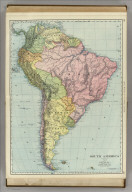 Rand, McNally & Co.'s South America. (with) Galapagos Islands.