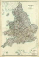 (Composite) England and Wales. By Keith Johnston, F.R.S.E. Keith Johnston's General Atlas. Engraved, Printed, and Published by W. & A.K. Johnston, Edinburgh & London.