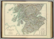 Scotland (southern sheet). By Keith Johnston, F.R.S.E. Keith Johnston's General Atlas. Engraved, Printed, and Published by W. & A.K. Johnston, Edinburgh & London.