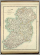 Ireland. By Keith Johnston, F.R.S.E. Keith Johnston's General Atlas. Engraved, Printed, and Published by W. & A.K. Johnston, Edinburgh & London.