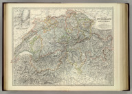 Switzerland and the Alps of Savoy & Piedmont. (with) Geneva and its Environs. By Keith Johnston, F.R.S.E. Keith Johnston's General Atlas. Engraved, Printed, and Published by W. & A.K. Johnston, Edinburgh & London.