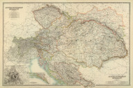 (Composite of) Austro-Hungarian Monarchy. By Keith Johnston, F.R.S.E. Keith Johnston's General Atlas. Engraved, Printed, and Published by W. & A.K. Johnston, Edinburgh & London.