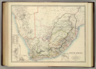 South Africa. (with) Cape Town. (with) (Environs of Cape Town). (with) Durban and Port Natal. By T.B. Johnston, Geographer to the Queen. Keith Johnston's General Atlas. Engraved, Printed, and Published by W. & A.K. Johnston, Edinburgh & London.