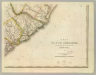 A Map Of South Carolina (southeast portion), Constructed and Drawn from the District Surveys, ordered by the Legislature: by John Wilson, late Civil & Military Engineer of So: Cara. The Astronomical Observations by Professor Geo: Blackburn & I.M. Elford. Engraved by H.S. Tanner Philadelphia. Entered according to Act of Congress, the 10th day of April 1822, by John Wilson, Agent of the Board of Public Works of the State of South Carolina.