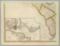 A Map Of South Carolina (southwest portion), Constructed and Drawn from the District Surveys, ordered by the Legislature: by John Wilson, late Civil & Military Engineer of So: Cara. The Astronomical Observations by Professor Geo: Blackburn & I.M. Elford. Engraved by H.S. Tanner Philadelphia. Entered according to Act of Congress, the 10th day of April 1822, by John Wilson, Agent of the Board of Public Works of the State of South Carolina.