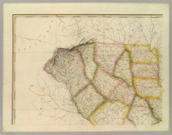 A Map Of South Carolina (northwest portion), Constructed and Drawn from the District Surveys, ordered by the Legislature: by John Wilson, late Civil & Military Engineer of So: Cara. The Astronomical Observations by Professor Geo: Blackburn & I.M. Elford. Engraved by H.S. Tanner Philadelphia. Entered according to Act of Congress, the 10th day of April 1822, by John Wilson, Agent of the Board of Public Works of the State of South Carolina.