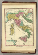 Italia Antiqua. Published by H.S. Tanner, Philadelphia. (1826)