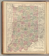 Indiana. Copyright 1886 by Wm. M. Bradley & Bro.