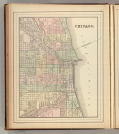 Chicago. Copyright 1886 by Wm. M. Bradley & Bro.