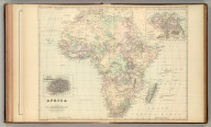 Africa. (with) Lower Egypt or the Delta of the Nile. (with) Island of St. Helena. Copyright 1886 by Wm. M. Bradley & Bro.