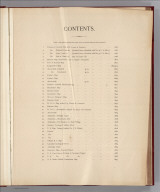 (Table of Contents to) Alaskan Boundary Tribunal. (Volume 1) British Atlas. Maps And Charts Accompanying The Case Of Great Britain. Washington, Government Printing Office, 1904.
