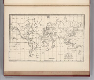 (Facsimile) Map of the World Illustrating the Voyages and Travels of G.H. Von Langsdorff. Photo. Lith. by A. Hoen & Co. Baltimore MD. London, Published Feby. 1st. 1814 by Henry Colburn, Conduit Street. Thompson & Hall sculpt. 14 Bury Strt., Bloomsby.