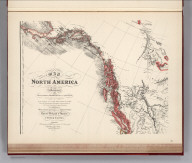 (Facsimile) Map of North America (portion) from 20 to 80 Degrees North Latitude Exhibiting the recent Discoveries, Geographical and Nautical, Drawn chiefly from the Authorities M. de Humbolt (Humboldt), Lieut, Pike. Mess. Lewis and Clarke. Sir Alexr. Mackenzie. Mr. Hearne, Col. Bouchette, Capt. Vancouver, Ross, Parry & Franklin also Describing the Boundary Lines between the Territories of Great Britain & Spain with the United States. London. Published by Ja. Wyld (successor to W. Faden) N.5. Charing Cross, Geographer to His Majesty and to H.R.H. the Duke of York, June 1, 1824. Photo. Lith. by A. Hoen & Co. Baltimore, MD. (by Faden).