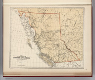 (Facsimile) Map of the Province of British Columbia, Compiled and drawn by Edward Mohun, C.E. by Direction of the Honorable W. Smithe. Chief Commissioner of Lands and Works. Victoria, B.C. 1884. Dawson Brothers, Montreal. Photo. Lith. by A. Hoen & Co. Baltimore, MD. Engraved & Printed by Bartholomew Edinburgh.