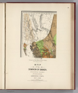 (Facsimile) Geological and Natural History Survey of Canada (portion). Alfred R.C. Selwyn L.L.D., F.R.S., Director. Map of the Dominion of Canada. Geologically Colored from Surveys made by the Geological Corps, 1842-1882. Photo. Lith. by A. Hoen & Co. Baltimore, MD.