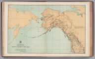 Facsimile: General Map. Parts of North America and Asia.