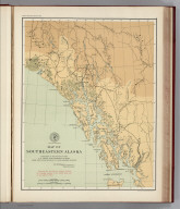 (Facsimile) Map of Southeastern Alaska. Prepared at the Office of the U.S. Coast and Geodetic Survey from the Latest Official U.S. and Canadian Surveys. Alaskan Boundary Tribunal, 1903. 2. Photo. Lith. by A. Hoen & Co. Baltimore, MD.