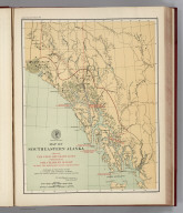 (Facsimile) Map of Southeastern Alaska. Showing the Four Boundary Lines proposed by Sir Charles Bagot during the British-Russian Negotiations. Prepared at the Office of the U.S. Coast and Geodetic Survey from the Latest Official U.S. and Canadian Surveys. Alaskan Boundary Tribunal, 1903. 3. Photo. Lith. by A. Hoen & Co. Baltimore, MD.
