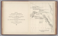 Facsimile: Russian Explorations of Pacific and Icy Seas (portion).