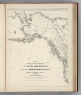 (Facsimile) Map of the Western & Middle Portions of North America (portion), to illustate the History of California, Oregon, and the Other Countries on the North-West Coast of America, by Robert Greenhow. Compiled from the best Authorities by Robert Greenhow. Drawn by George H. Ringgold, Engraved by E.F. Woodward Philada. Alaskan Boundary Tribunal, 1903. 15. Photo. Lith. by A. Hoen & Co. Baltimore, MD.
