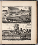 View: Farm Residences of William Likes, Walter R. Spink, Adams County, Illinois.