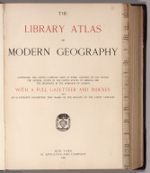 Title Page: The Library Atlas Of Modern Geography