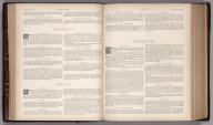 Text Page: (Continues) Map No. 27 and 30. Bulgaria. Servia. Greece