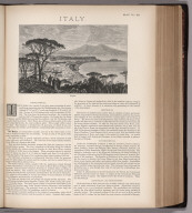 Text Page: (Continues) Italy. Map No. 28