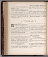 Text Page: (Continues) Persia and Afghanistan, Map No. 33