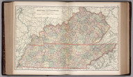 Map of Kentucky and Tennessee. 66