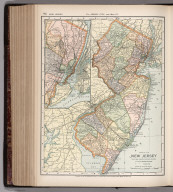 Map of New Jersey. 84
