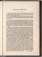 Text Page: Editor's Preface. (by) C.S. Cartee