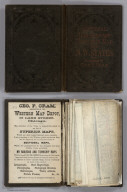 Covers: Township And Rail Road Map Of The North West