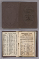 Covers: Railroad & County Map Of Virginia