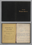 Covers: Map Of Puget Sound And Surroundings, Washington Territory.