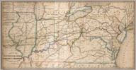 Map Of The Western Railroads Tributary To Philadelphia