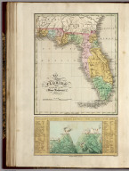 Florida. Principal Mountains, Cities, &c. in North & South America.