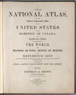 Covers: The National Atlas.