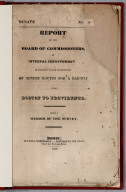 Title Page: Report of the Board of Commissioners, of Internal Improvement in Relation to the Examination of Sundry Routes for a Railway from Boston to Providence