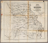 Map Of The State Of Missouri
