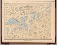 Comparative Form and Extent of the Inland Seas and Lakes of the Globe .....