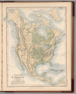 Mountains, Table Lands, Plains & Valleys of North America ....